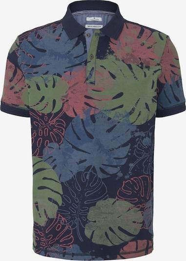 TOM TAILOR Tričko - tmavě modrá / tmavě zelená / tmavě růžová, Produkt