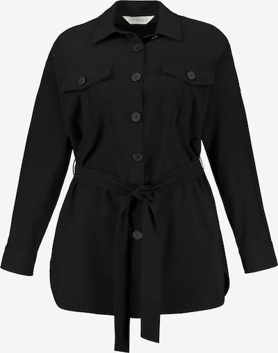 Studio Untold Hemdjacke in schwarz, Produktansicht