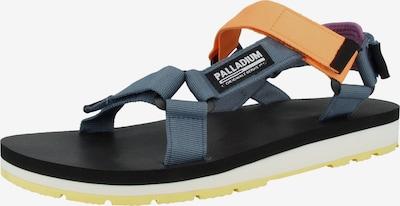 Palladium Sandalen 'Outdoorsy Urbanity' in de kleur Duifblauw / Geel / Lila, Productweergave