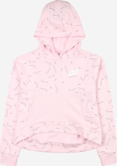 Nike Sportswear Sudadera en rosa / negro, Vista del producto