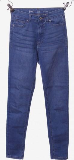 find. High Waist Jeans in 26 in blau, Produktansicht