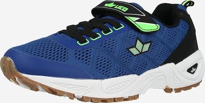 LICO Sneaker 'Jackie' in royalblau / neongrün / schwarz, Produktansicht