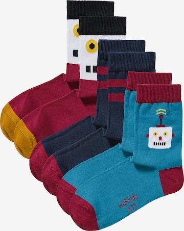 Walkiddy Socken in Blau
