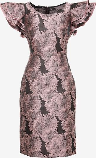 Madam-T Kleid 'Baymara' in mischfarben / rosa / schwarz, Produktansicht