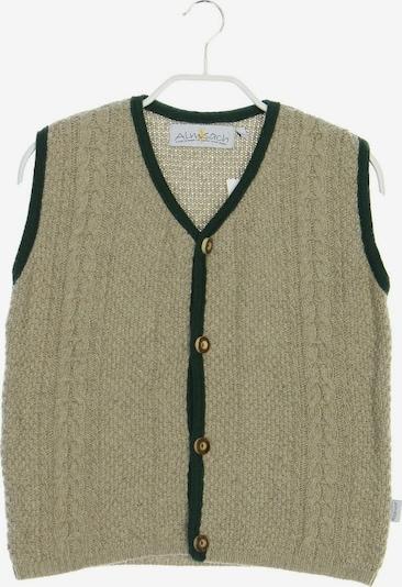 ALMSACH Sweater & Cardigan in L in Greige / Dark green, Item view