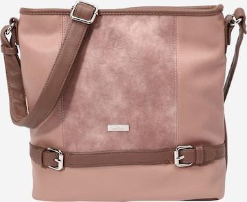 TOM TAILOR Tasche 'Juna Hobo' in Pink
