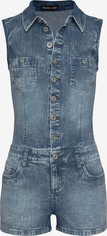 MELROSE Overall in Blau