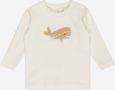 NAME IT Shirt 'FIPOL' in chamois / offwhite, Produktansicht