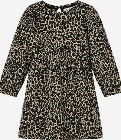 NAME IT Kleid in braun / schwarz, Produktansicht