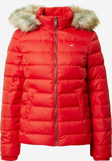 Tommy Jeans Jacke in rot, Produktansicht