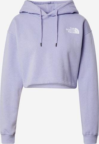 THE NORTH FACE Sweatshirt in Purple