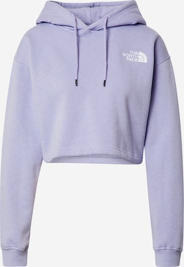 THE NORTH FACE Sweatshirt in lavendel / weiß, Produktansicht