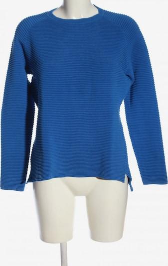 Marie Lund Rundhalspullover in S in blau, Produktansicht