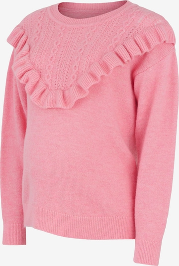 MAMALICIOUS Sweater 'Frill' in Light pink, Item view