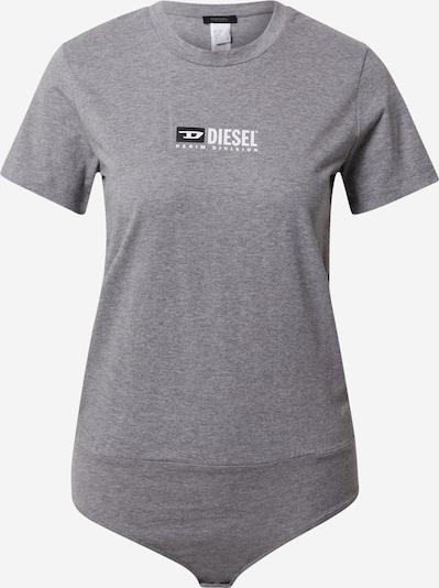 Tricou body DIESEL pe gri închis / negru / alb, Vizualizare produs