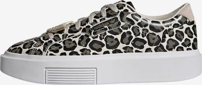 ADIDAS ORIGINALS Sneaker 'Sleek' in beige / gold / schlammfarben / schwarz, Produktansicht