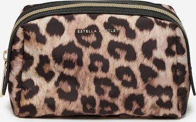 Estella Bartlett Kosmētikas somiņa karameļkrāsas / kastaņbrūns / kapučino, Preces skats