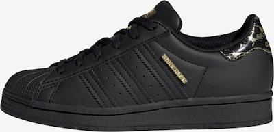 ADIDAS ORIGINALS Sneaker 'Superstar' in gold / schwarz, Produktansicht