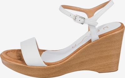 UNISA Sandalette in weiß, Produktansicht