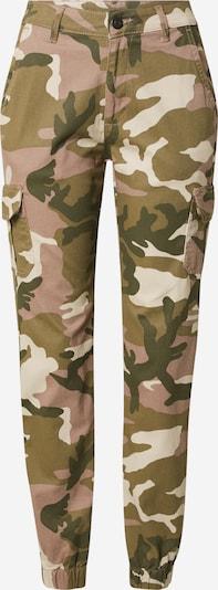 bézs / olíva / fáradt rózsaszín Urban Classics Cargo nadrágok, Termék nézet