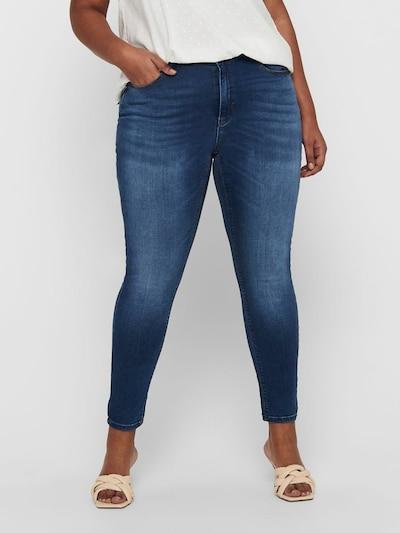 ONLY Carmakoma Jeans in hellblau, Modelansicht