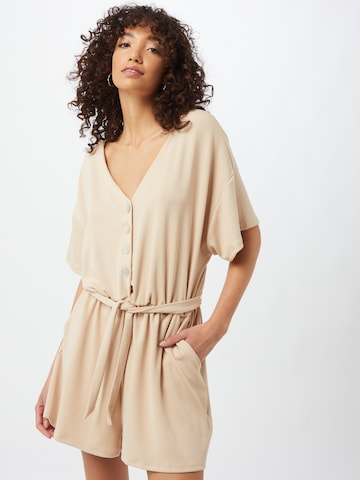 ABOUT YOU Jumpsuit 'Naja' in Beige