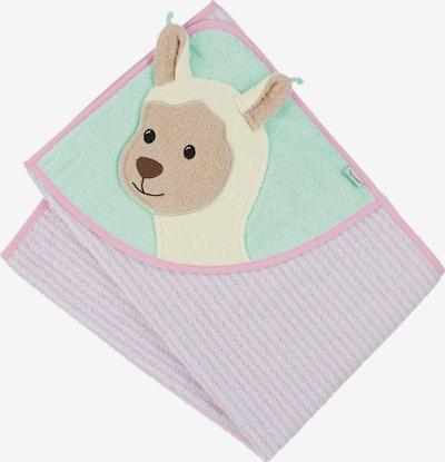 STERNTALER Handtuch in türkis / pink, Produktansicht