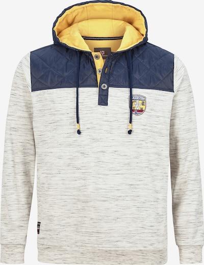 Jan Vanderstorm Sweatshirt 'Woldemar' in de kleur Lichtbeige / Gemengde kleuren, Productweergave