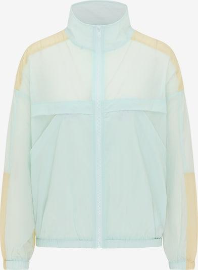 myMo ATHLSR Veste de sport en turquoise / jaune clair, Vue avec produit