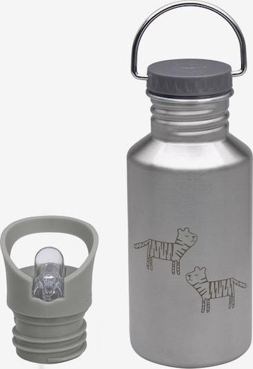 LÄSSIG Drinking Bottle in Green / Silver, Item view