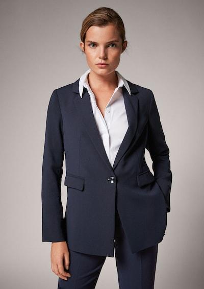 COMMA Blazer in dunkelblau, Modelansicht
