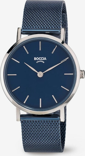 Boccia Titanium Analog Watch in Blue / Silver, Item view
