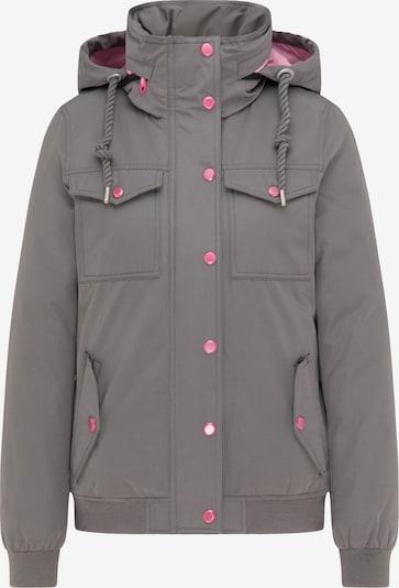 MYMO Winterjacke in grau / rosé, Produktansicht