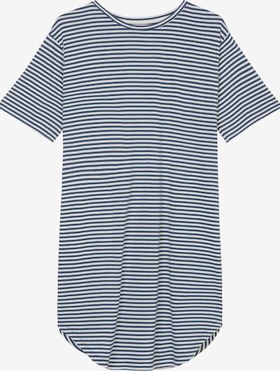 Marc O'Polo Schlafshirt ' Sleepshirts ' in blau / offwhite, Produktansicht