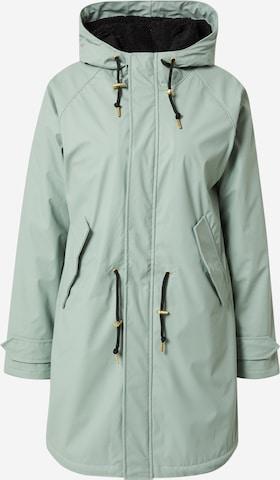 Derbe Ανοιξιάτικο και φθινοπωρινό παλτό 'Travel Cozy' σε πράσινο