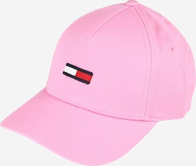 Tommy Jeans Casquette en bleu nuit / rose / rouge / blanc, Vue avec produit