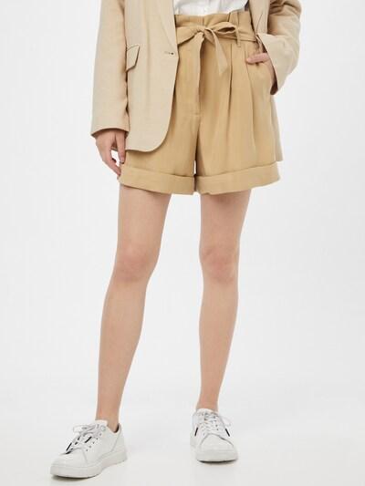 BRUUNS BAZAAR Kalhoty se sklady v pase - písková, Model/ka