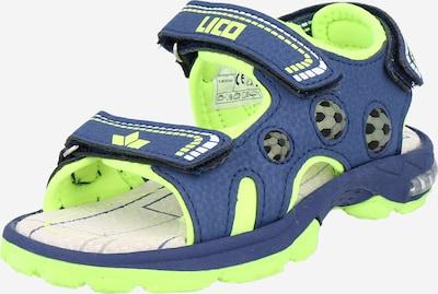 LICO Chaussures ouvertes en bleu, Vue avec produit