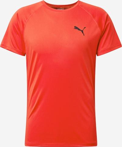Tricou funcțional PUMA pe roșu deschis / negru, Vizualizare produs