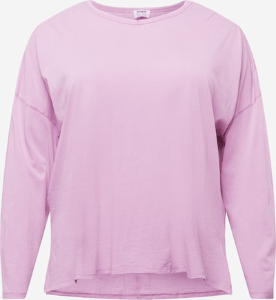 Cotton On Curve Shirt in mauve: Frontalansicht