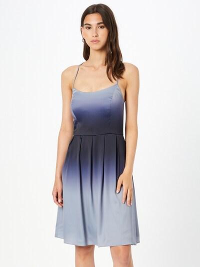 VM Vera Mont Kleid in rauchblau / nachtblau, Modelansicht