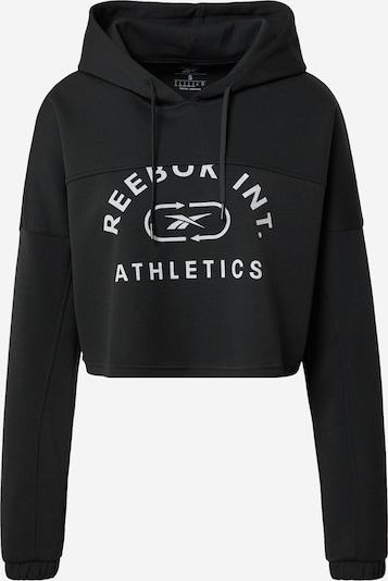 Reebok Sport Athletic Sweatshirt in Light grey / Black, Item view