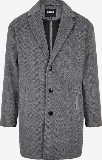 Urban Classics Manteau mi-saison en gris chiné, Vue avec produit