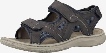 JOSEF SEIBEL Sandale in Grau