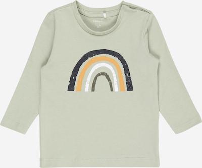 NAME IT Tričko 'DAFORM' - námořnická modř / žlutá / mátová / bílá, Produkt