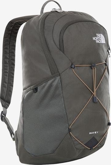 THE NORTH FACE Rucksack in grau / weiß, Produktansicht