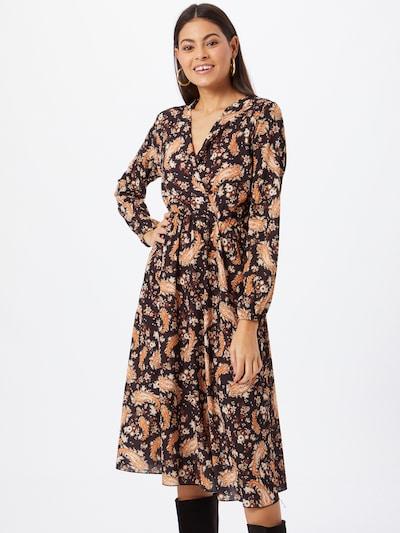 Sublevel Kleid in braun / mischfarben / orange, Modelansicht
