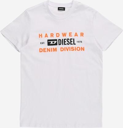 DIESEL Shirt in weiß, Produktansicht