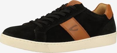 CAMEL ACTIVE Sneakers laag in de kleur Bruin / Zwart: Vooraanzicht
