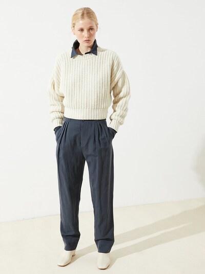CUS Pullover ' Makenzi ' in weiß, Produktansicht